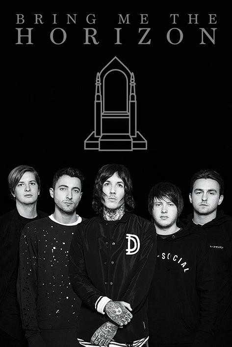 Plakát, Obraz - Bring Me The Horizon - Band, (61 x 91,5 cm)