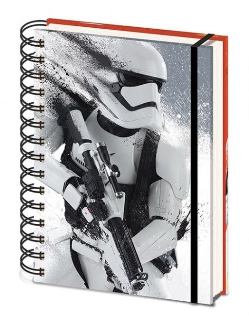 Star Wars VII: Síla se probouzí - Stormtrooper Paint A5 Zápisník