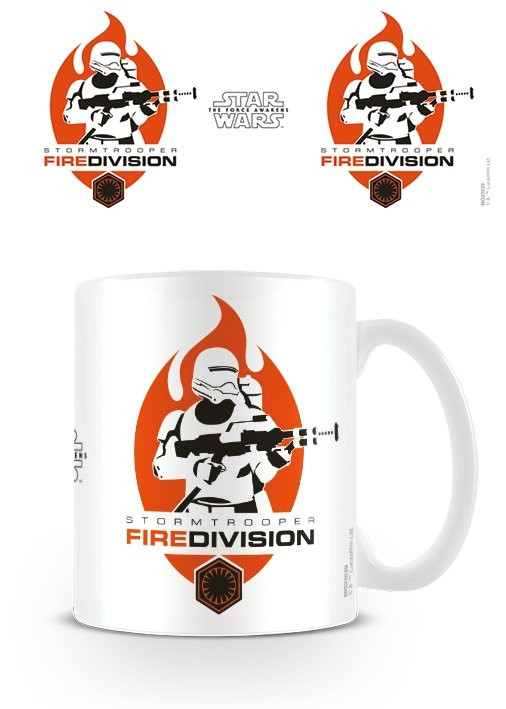 Hrnek Star Wars VII: Síla se probouzí - Fire Division