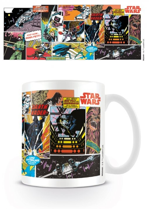 Hrnek Star Wars - Comic Panels