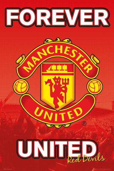 Plakát, Obraz - Manchester United FC - Forever 15/16, (61 x 91,5 cm)