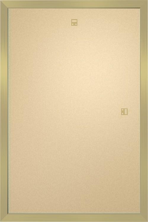 Rahmen - Poster 61x91,5cm golden MDF