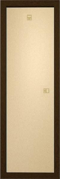 Slim plakáthoz keret 30,5x91,5cm diófa MDF keret