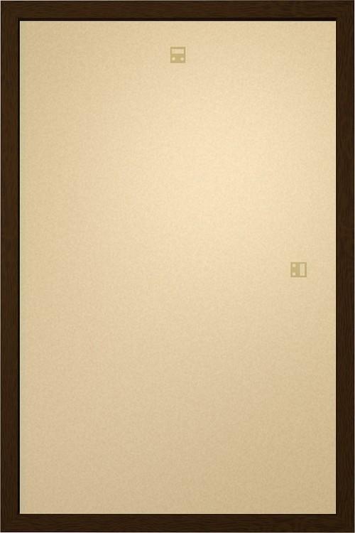 Ramme - Art Plakat 60x80cm valnød MDF Ramme