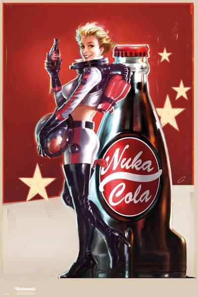 Plakát, Obraz - Fallout 4 – Nuka Cola, (61 x 91.5 cm)