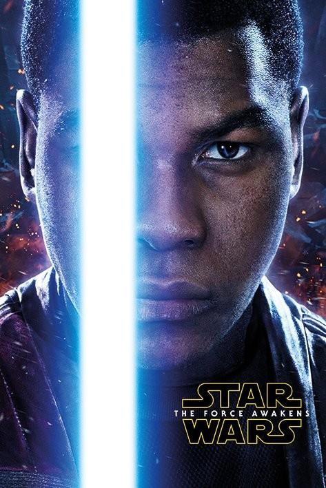 Plakát, Obraz - Star Wars VII: Síla se probouzí - Finn Teaser, (61 x 91,5 cm)