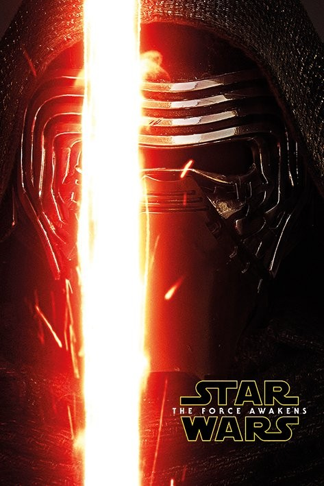 Plakát, Obraz - Star Wars VII: Síla se probouzí - Kylo Ren Teaser, (61 x 91,5 cm)