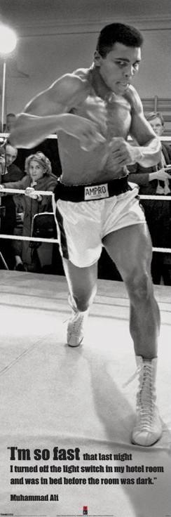Plakát, Obraz - Muhammad Ali - fast, (53 x 158 cm)