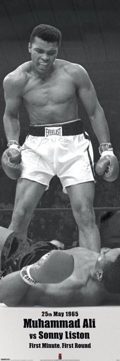 Plakát, Obraz - Muhammad Ali vs. Sonny Liston, (53 x 158 cm)