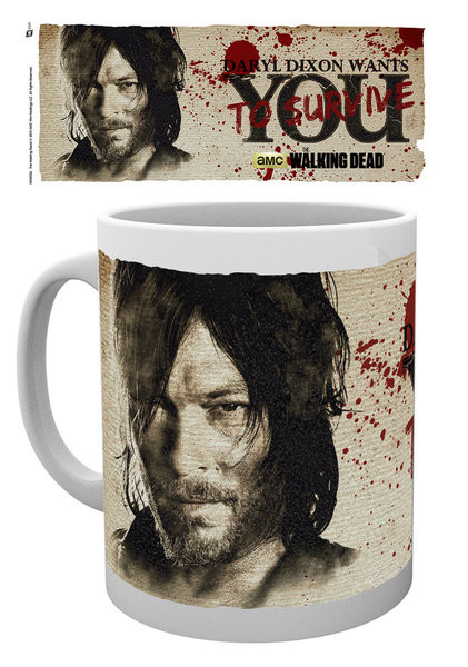 Hrnek The Walking Dead - Daryl Needs You