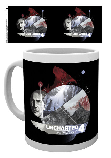 Hrnek Uncharted 4 - Mountain
