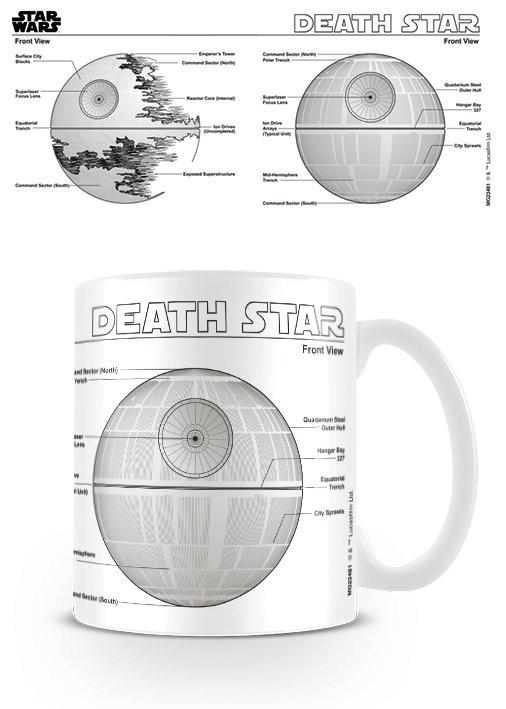 Hrnek Star Wars - Death Star Sketch