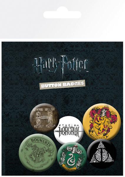 Placka Harry Potter - Mix