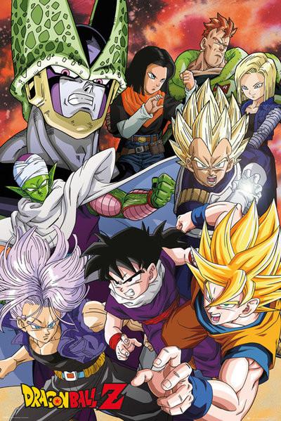 Plakát, Obraz - Dragon Ball Z - Cell Saga, (61 x 91,5 cm)