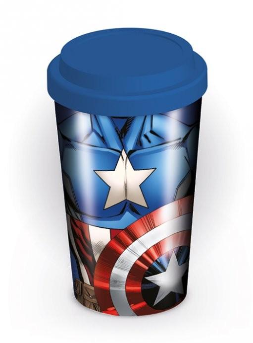 Hrnek Marvel - Captain America Torso