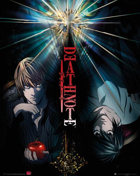 Plakát, Obraz - Death Note - duo, (40 x 50 cm)