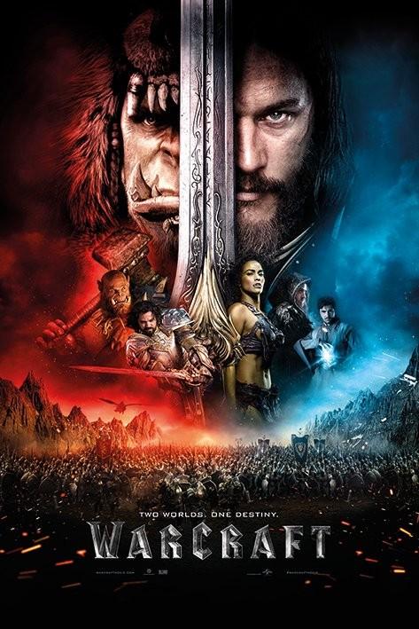 Plakát, Obraz - Warcraft: První střet - One Sheet, (61 x 91,5 cm)