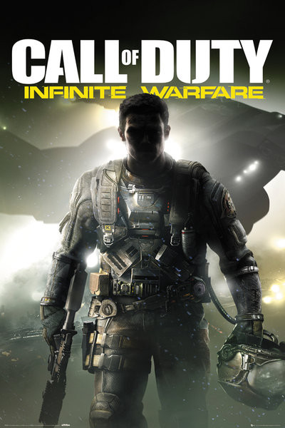 Plakát, Obraz - Call of Duty: Infinite Warfare - Key Art, (61 x 91,5 cm)