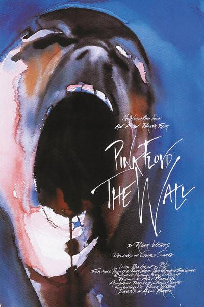 Plakát, Obraz - Pink Floyd - The Wall, Film, (61 x 91,5 cm)