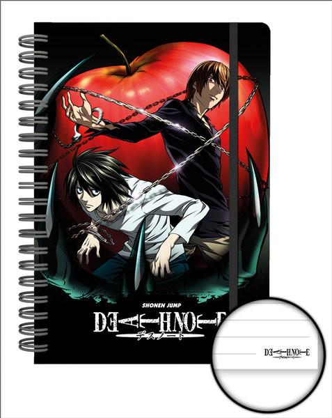 Death Note - Apple Zápisník