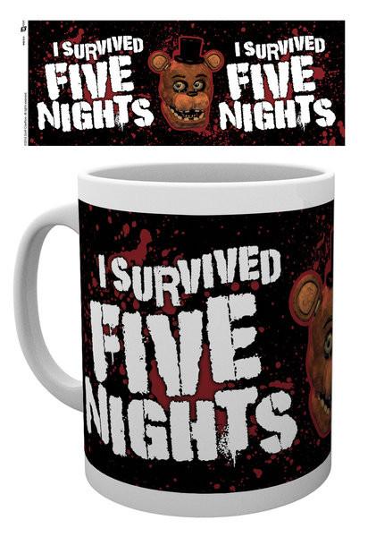 Hrnek Five Nights At Freddy's - I Survived