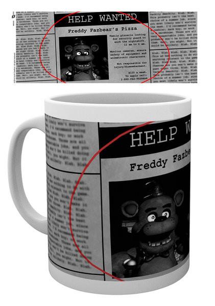 Hrnek Five Nights At Freddy's - Help Wanted