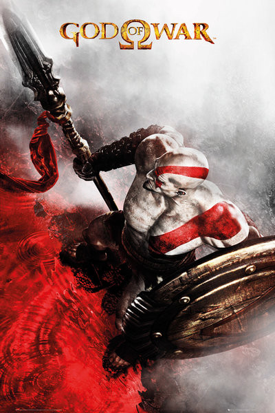 Plakát, Obraz - God of War - Key Art 3, (61 x 91,5 cm)