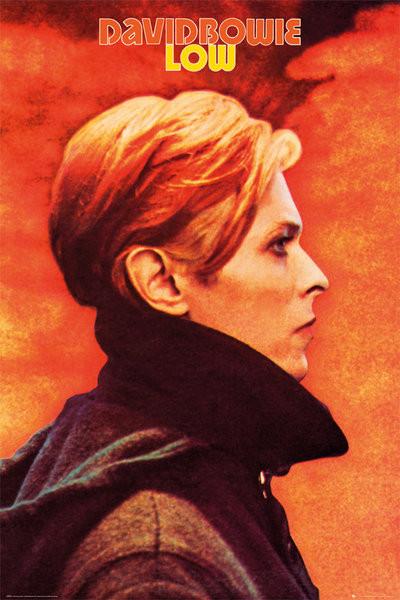 Plakát, Obraz - David Bowie - Low, (61 x 91,5 cm)