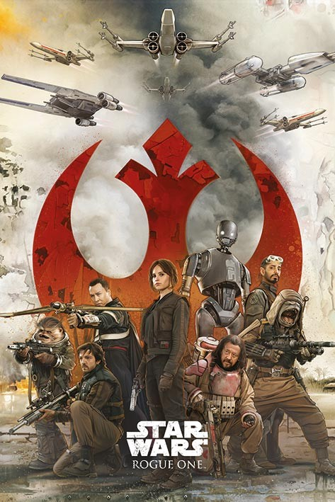 Plakát, Obraz - Rogue One: Star Wars Story - Rebels, (61 x 91,5 cm)