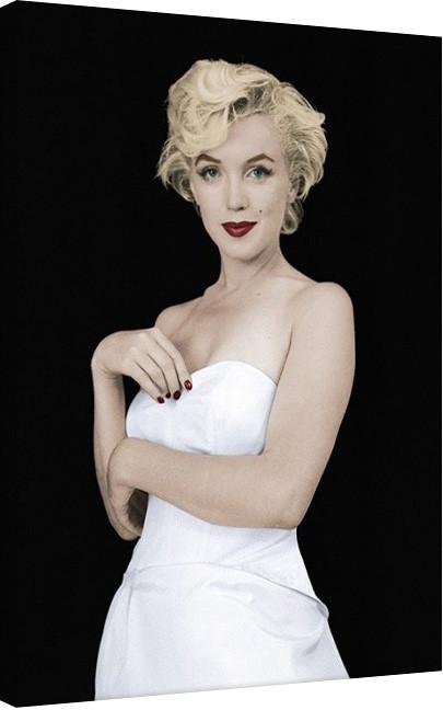 Obraz na plátně Marilyn Monroe - Pose, (60 x 80 cm)