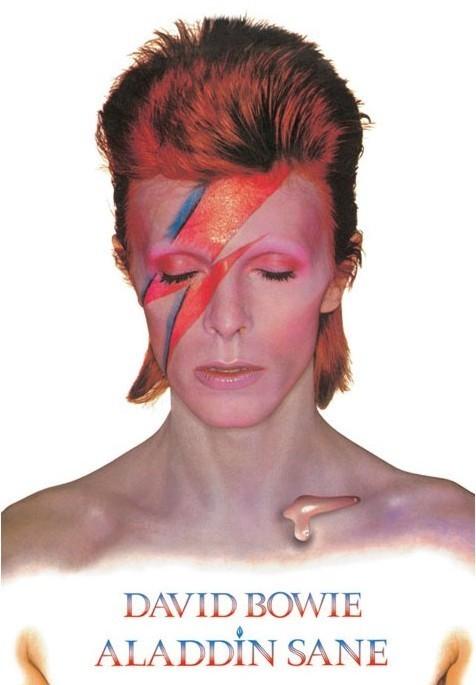Plakát, Obraz - David Bowie - Aladdin Sane, (61 x 91,5 cm)