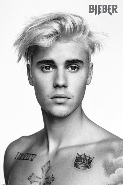 Plakát, Obraz - Justin Bieber - Pinup (Bravado), (61 x 91,5 cm)