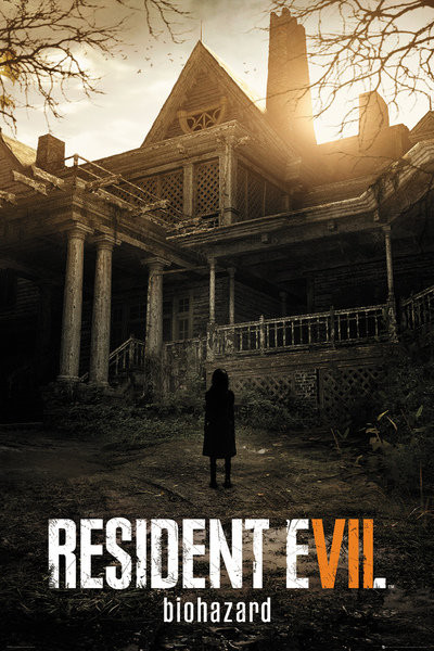 Plakát, Obraz - Resident Evil 7 - Biohazard, (61 x 91,5 cm)