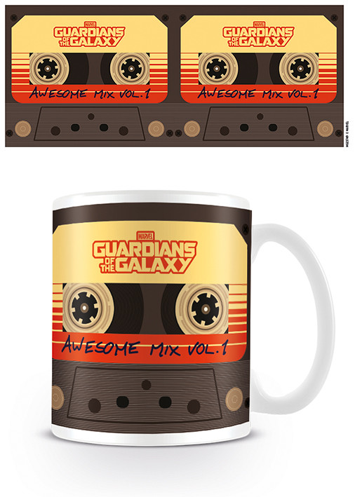 Hrnek Strážci Galaxie - Awesome Mix Vol. 1