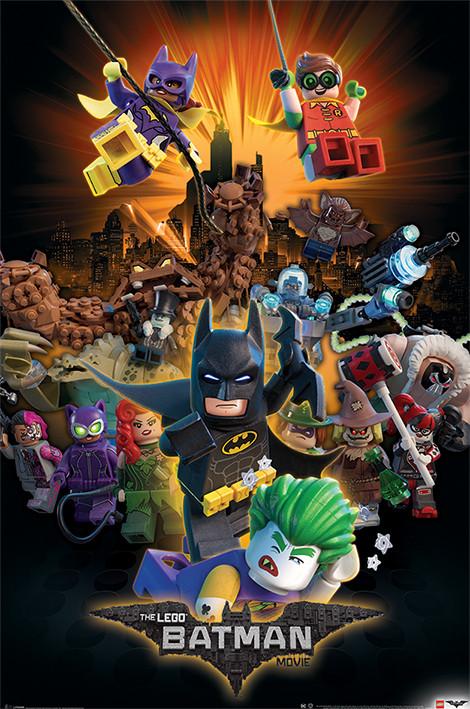 Plakát, Obraz - Lego Batman - Boom, (61 x 91,5 cm)