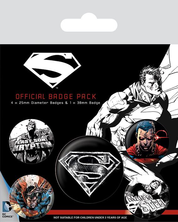Placka Superman - Dark