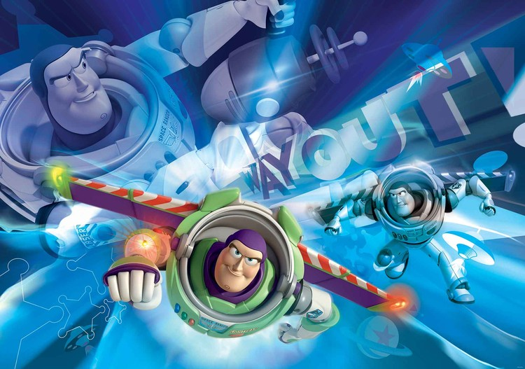 Fototapeta, Tapeta Toy Story Disney, (254 x 184 cm) 254x184 cm - 115g/m2 Paper