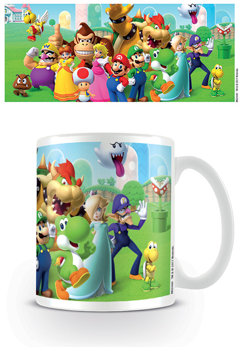 Hrnek Super Mario - Mushroom Kingdom