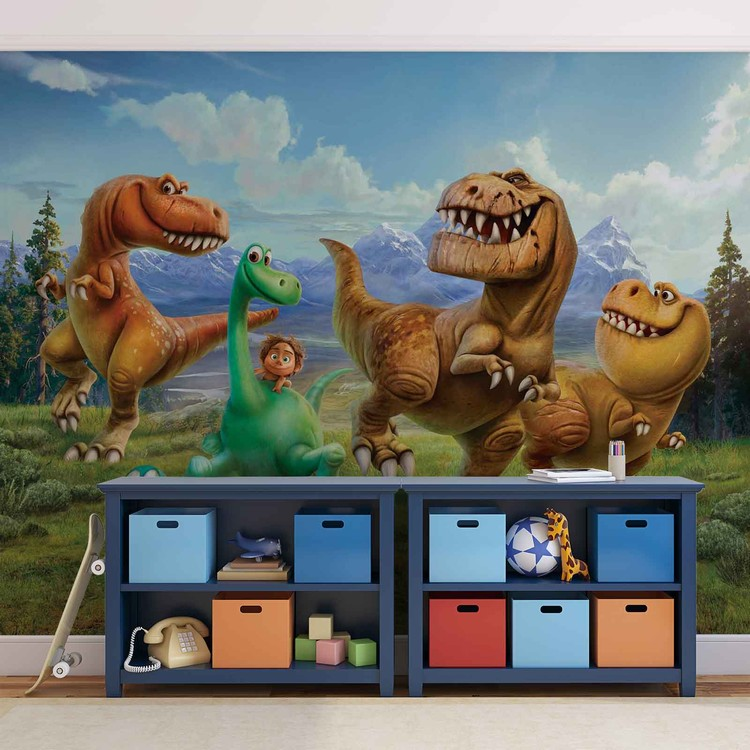 Fototapeta, Tapeta Disney - Dobrý Dinosaurus, (368 x 254 cm) 368x254 cm - 115g/m2 Paper