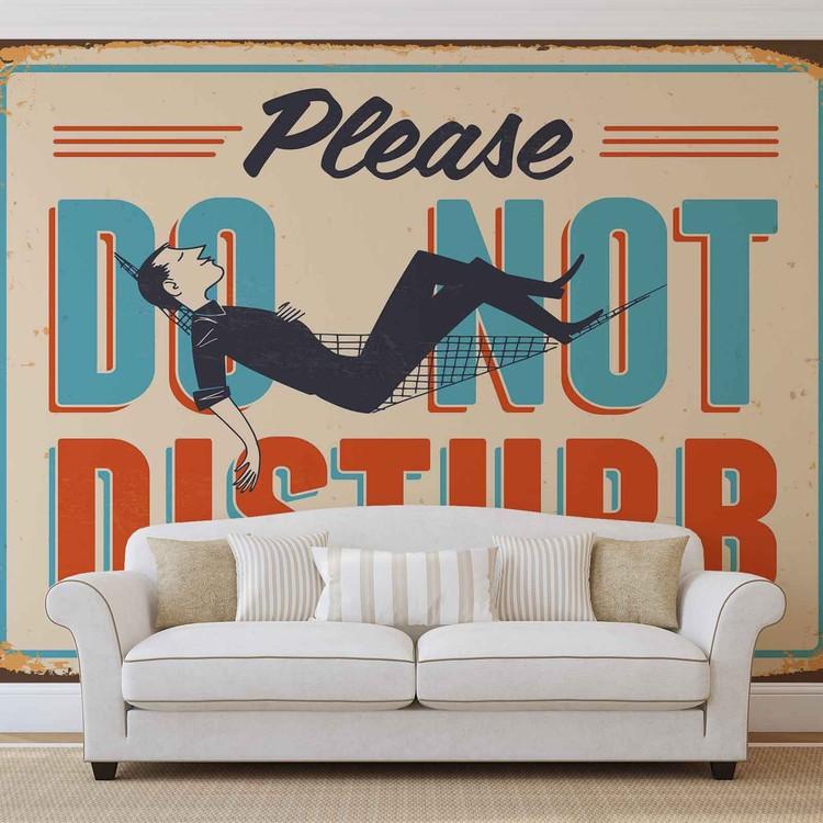 Affiche r tro ne pas d ranger poster mural papier peint acheter le sur for Poster mural plage pas cher