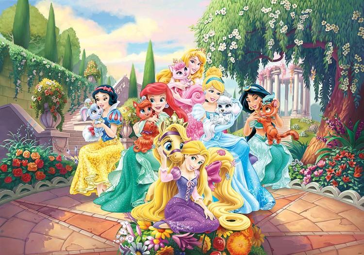 Fototapeta, Tapeta Disney Princezna Locika, Ariel, (368 x 254 cm) 368x254 cm - 115g/m2 Paper
