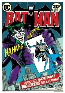 BATMAN 3D Plakat