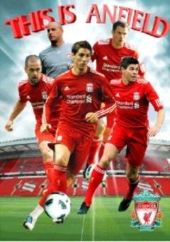 Liverpool - players 2010 3D Plakat