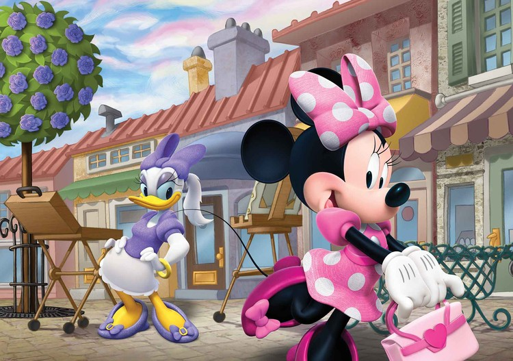 Fototapeta, Tapeta Disney Minnie Mouse, (254 x 184 cm) 254x184 cm - 115g/m2 Paper