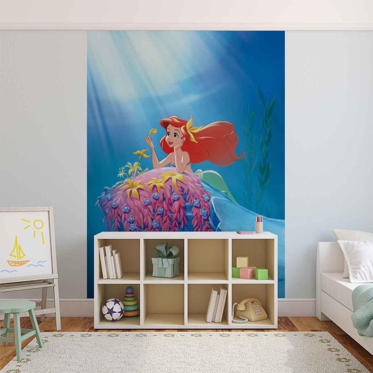 Fototapeta, Tapeta Disney Malá mořská víla Ariel, (254 x 184 cm) 254x184 cm - 115g/m2 Paper
