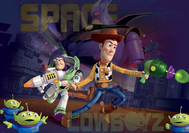 Fototapeta, Tapeta Toy Story Disney, (368 x 254 cm) 368x254 cm - 115g/m2 Paper