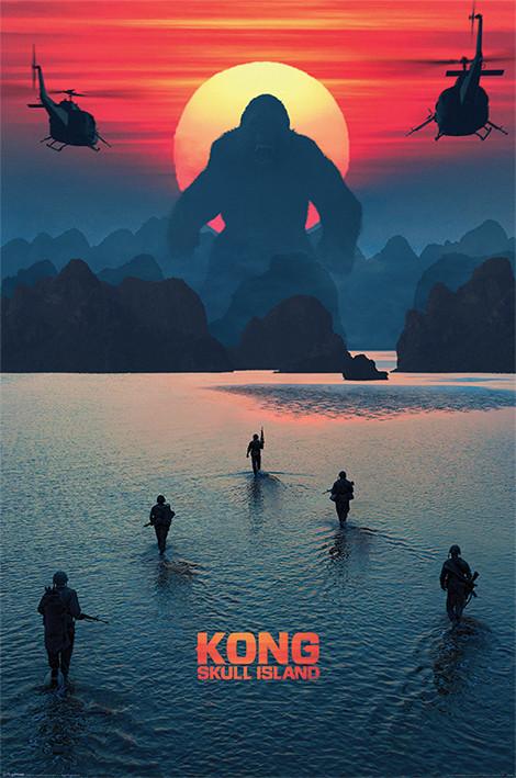 Plakát, Obraz - Kong: Ostrov lebek - Horizon, (61 x 91,5 cm)