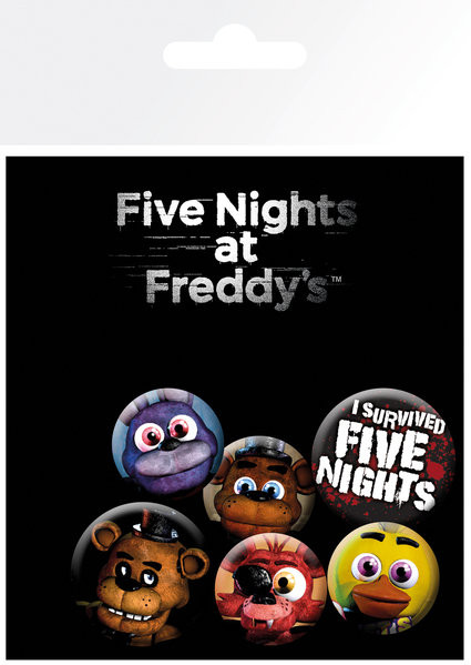 Placka Five Nights at Freddys