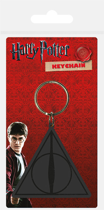 Klíčenka Harry Potter - Deathly Hallows Logo