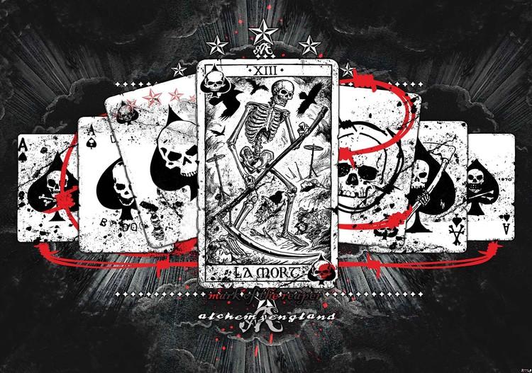 Fototapeta, Tapeta Tarotové karty, (184 x 254 cm) 184x254 cm - 115g/m2 Paper